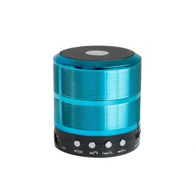 Caixa de Som Bluetooth Mini 5W USB FM SD TF - Azul - XC-MS-01 - X-Cell